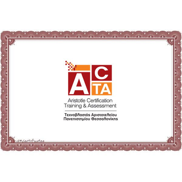 Acta Certifications It